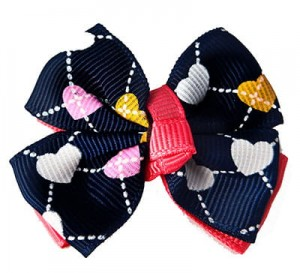 Fashion Navy Heart Pattern